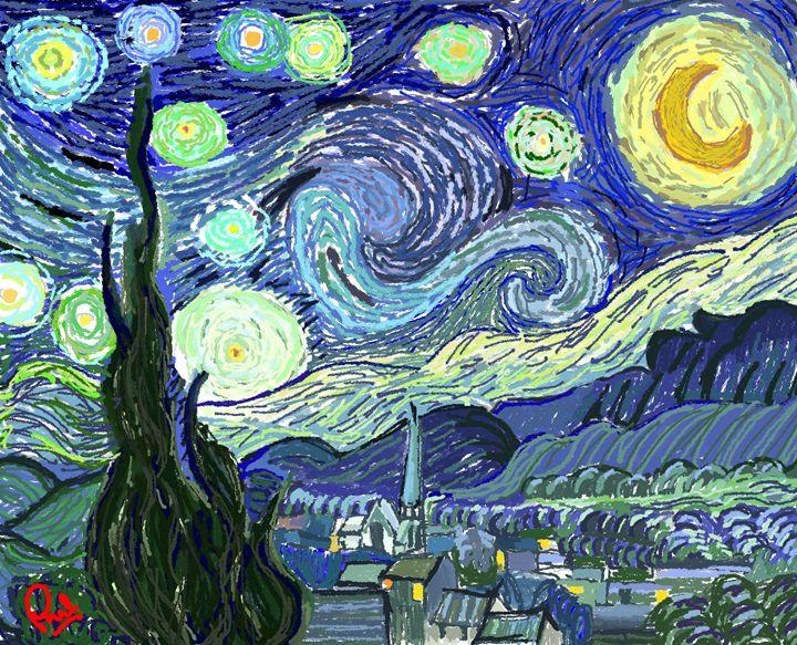 Starry Night (Van Gogh Tribute) - Phil Priestley