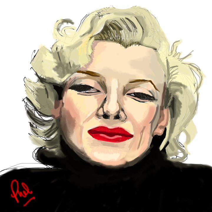 'Marilyn' - Phil Priestley