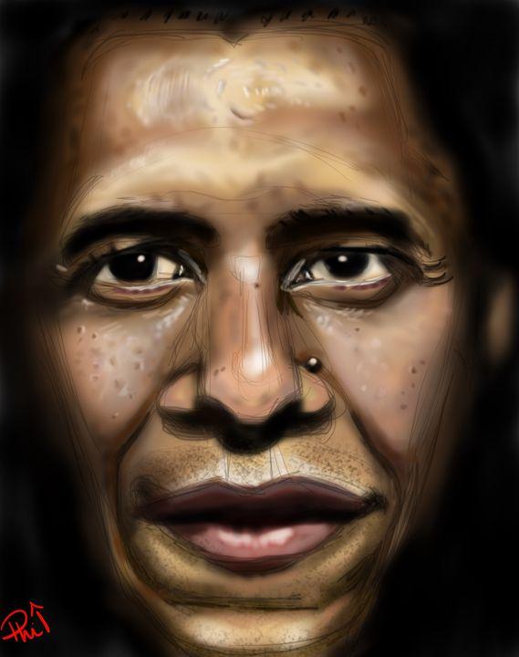 Barack Obama - Phil Priestley