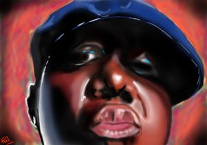 Biggie Street Art