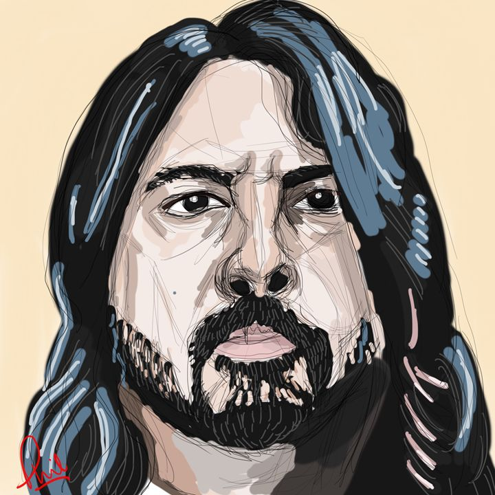Dave Grohl - Phil Priestley
