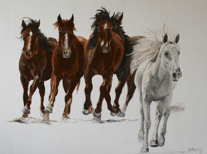Wild horses 1 - W. Arendsz