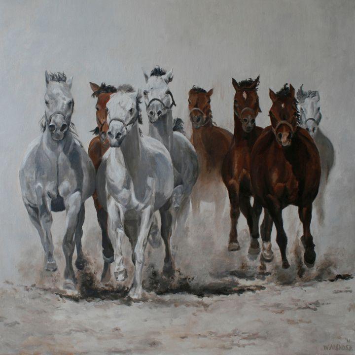 Wild horses 2 - W. Arendsz