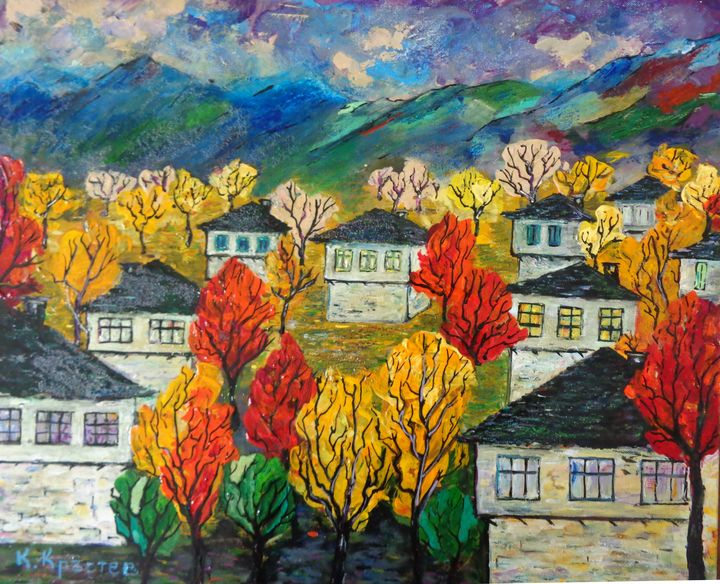 OLD BULGARIAN HOUSES - ART88