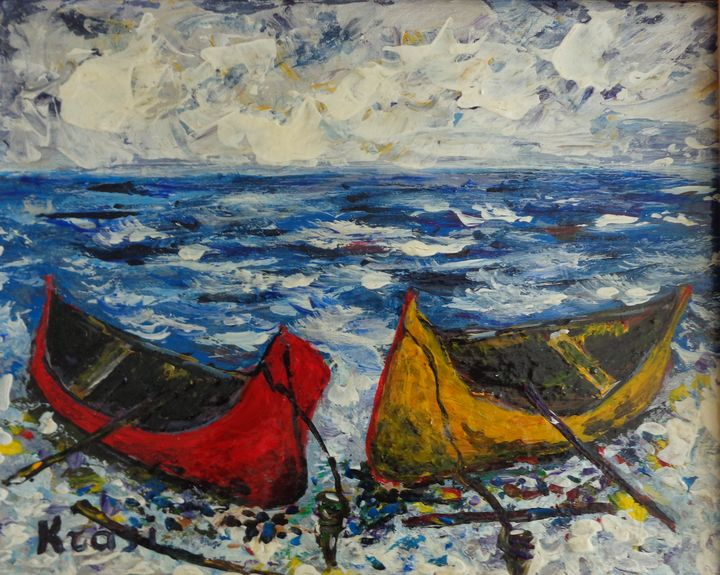 Boats On The Shore - ART88