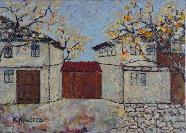 Old Bulgarian Houses - ART88