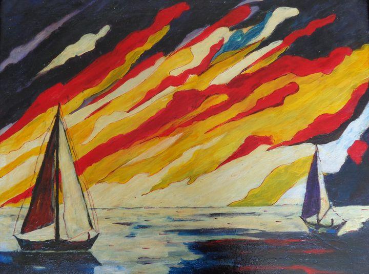 Abstract Boats - ART88