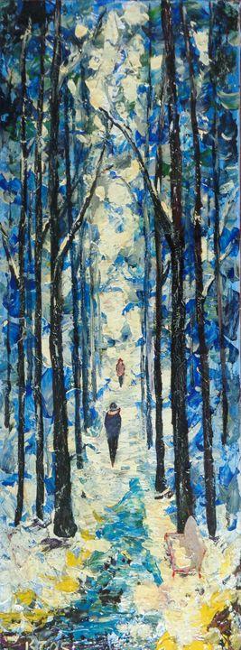 Winter In The Park - ART88