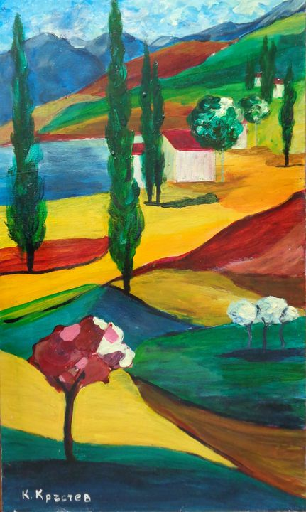 Abstract Landscape #2 - ART88
