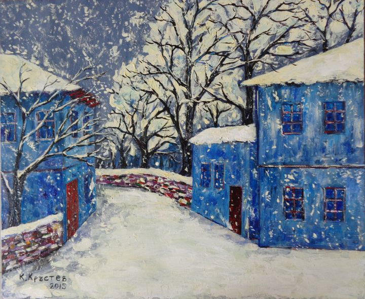 Quiet Winter in Bulgaria - ART88
