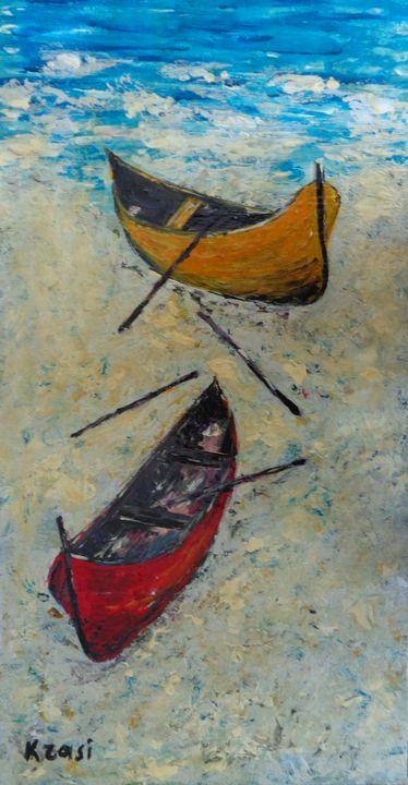 ON THE SHORE - ART88