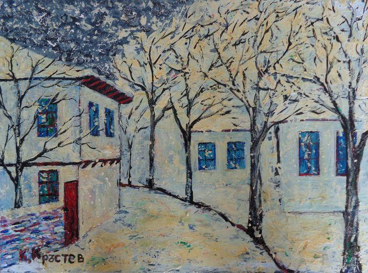 BE HAPPY IN WINTER - ART88