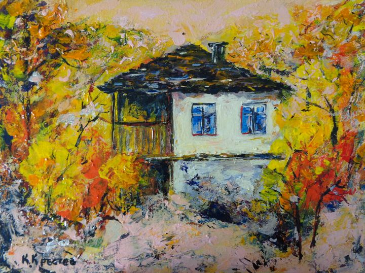 OLD BULGARIAN HOUSE - ART88