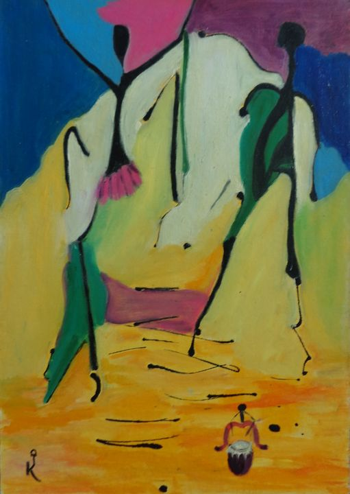 AFRICAN DANCE - ART88