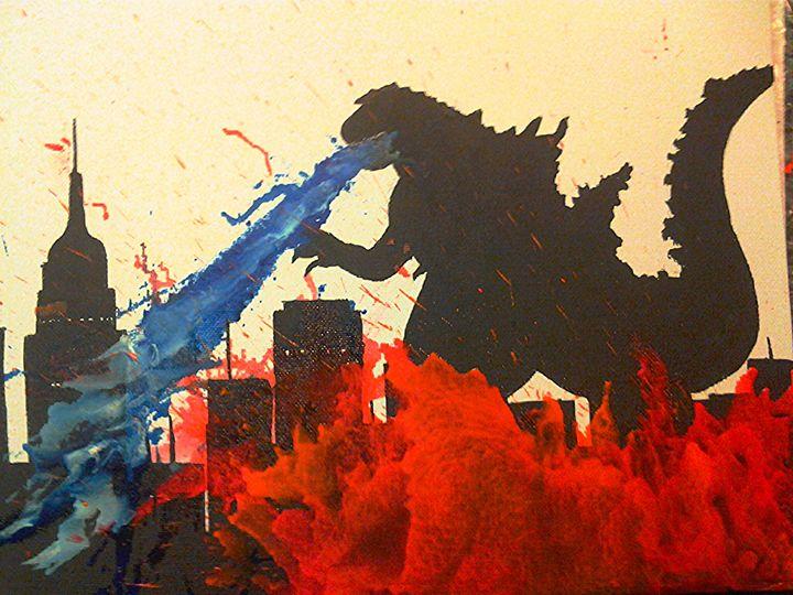 Godzilla - RayGunnz Art