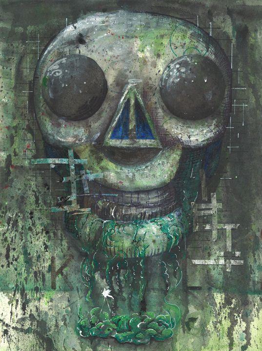 Slime Skull - NarwhalWolf