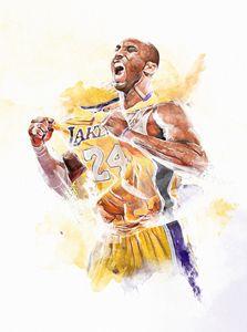 Kobe Bryant series print