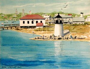 Welcome to Nantucket - Gardner Watercolors