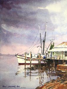 Shrimp Boat Amelia Island Florida