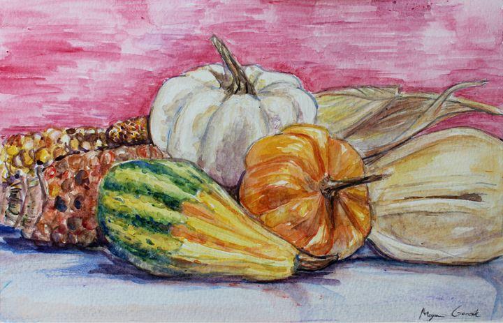 Autumn Harvest - Sun Rising Art Studio