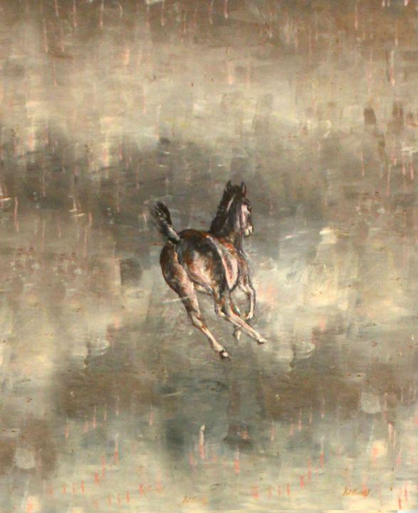 Spring Foal - Sun Rising Art Studio