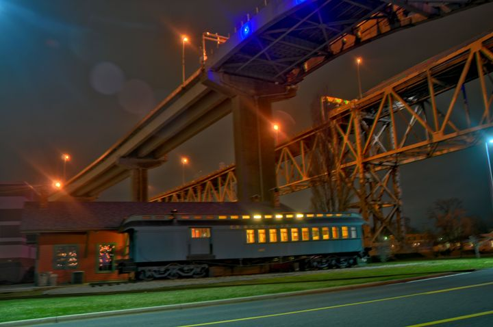 Midnight Train - Joe Shortridge Photo