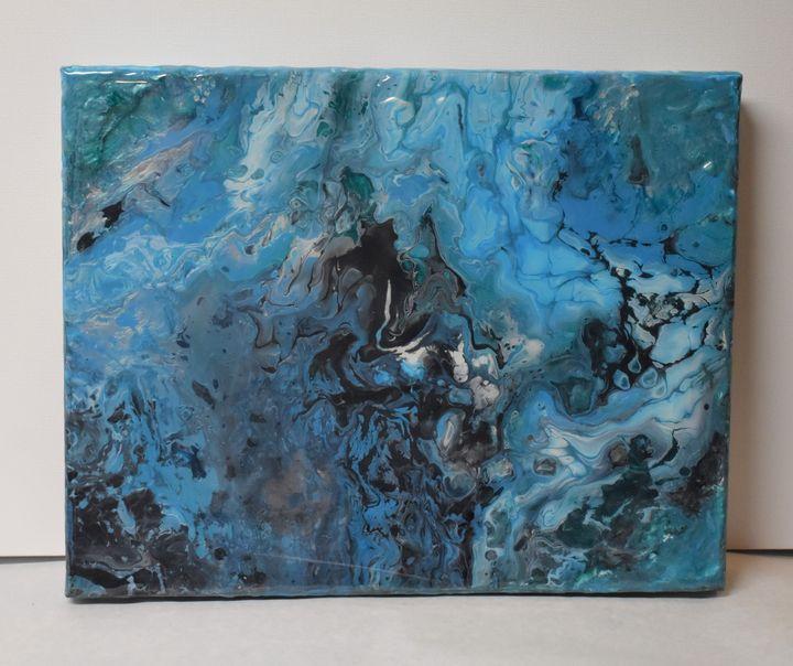Tide Pool II - Glacier Innovations Fluid Art