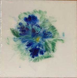 Blue Bloom I