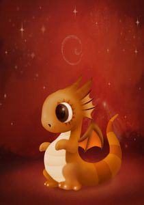 The little red dragon