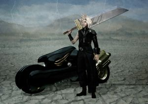 Cloud Strife - Fantastical Illustration