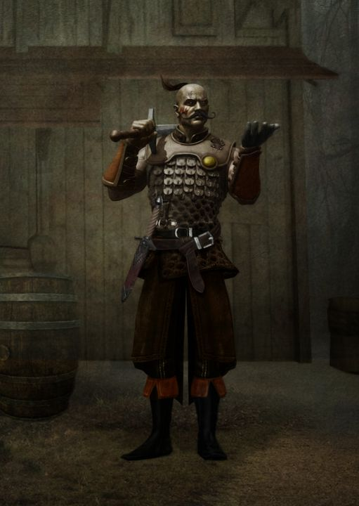The mercenary - Fantastical Illustration