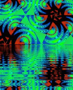 Florescent Stream 1 - Undefined Designs