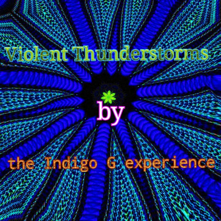 Violet Thunderstorms - Undefined Designs