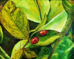 Making Friends - Paintings by Michael Hartstein