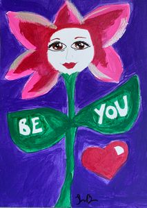 Be You flower face
