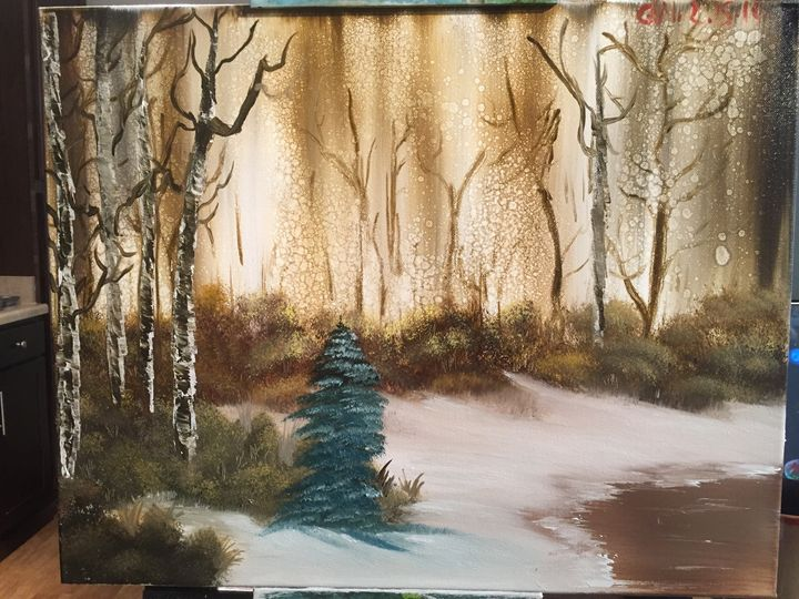 Brown snowy woods - Ashara Dayne