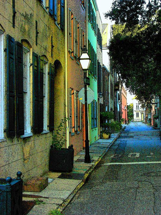 Back Street in Charleston - Rodney Williams