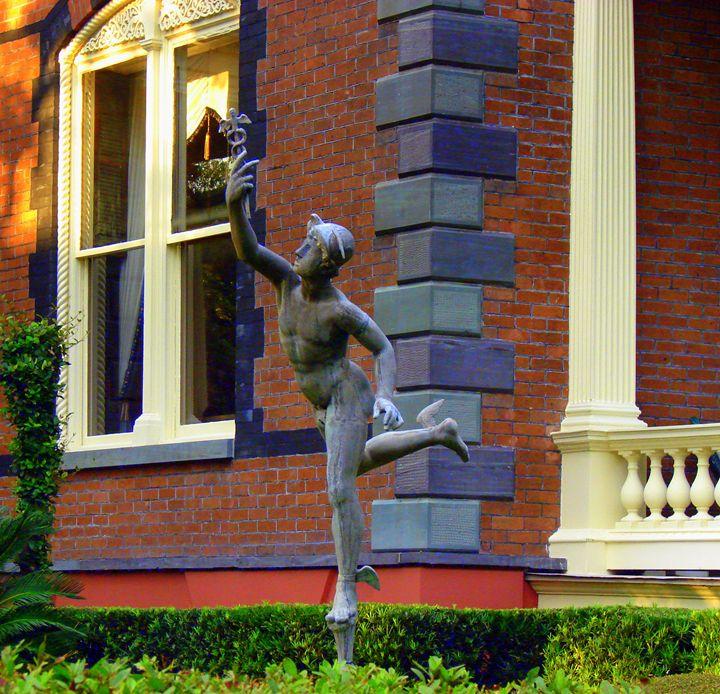 Hermes In The Garden - Rodney Williams