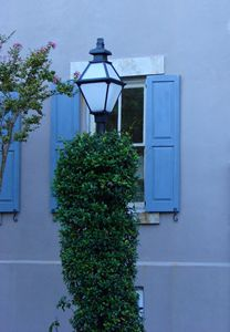 Lamp Post and Blue Evening