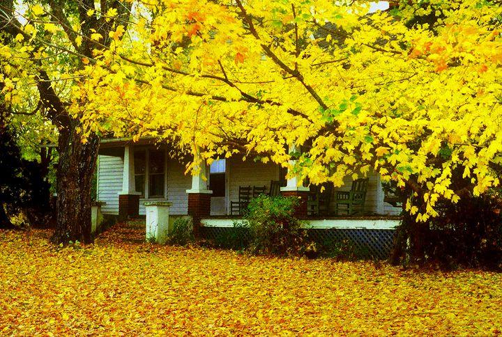 Autumn Homestead - Rodney Williams
