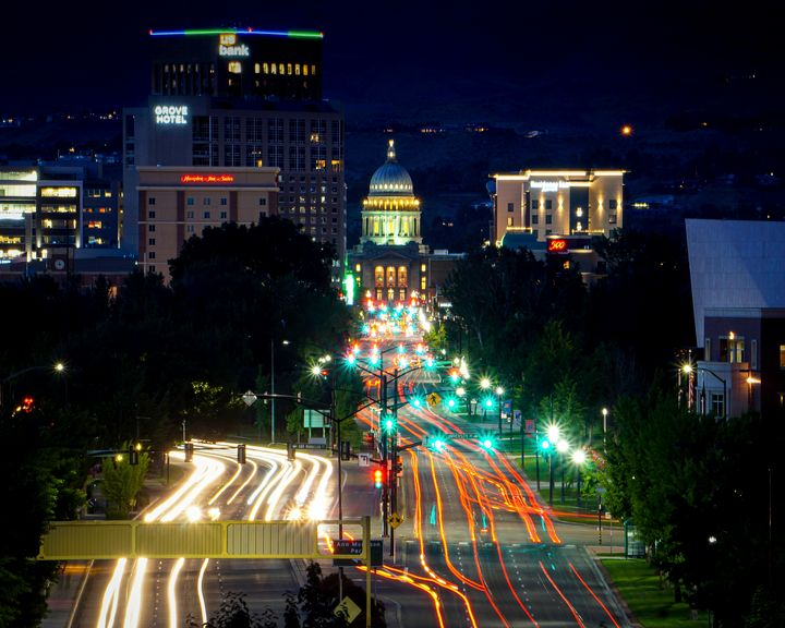 Downtown Boise - Herzberg Photography