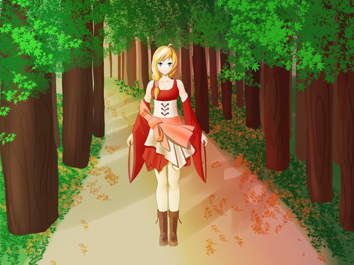 Lilly in the woods - Jace Eclipse