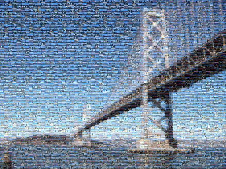 Bay Bridge Mosaic - Gareth owen