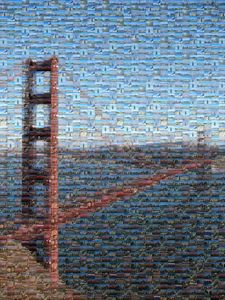 The Golden Bridge Mosaic