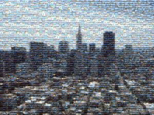 Downtown San Francisco Mosaic