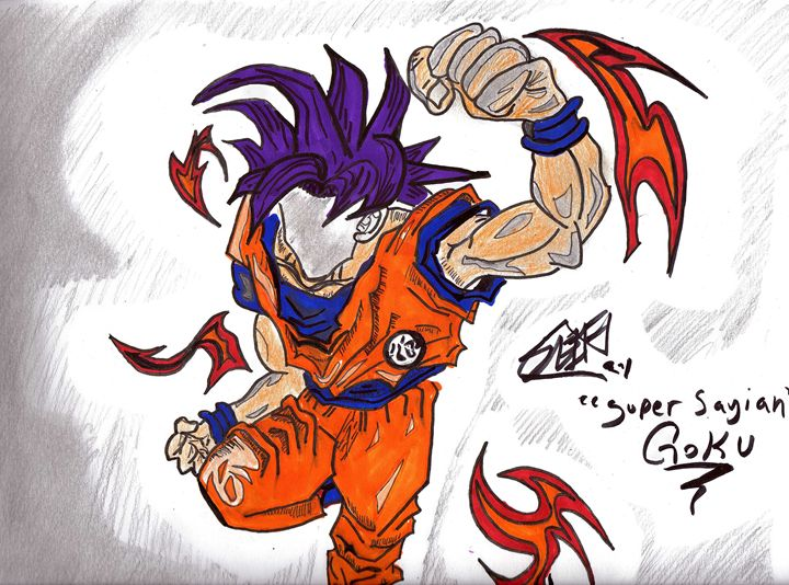Goku (Super Saiyan) - Seif Seif