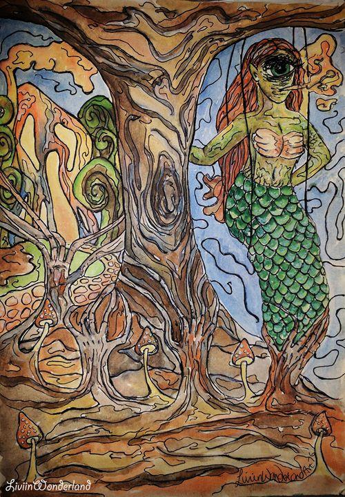 Earthmaid - Livi in Wonderland Art
