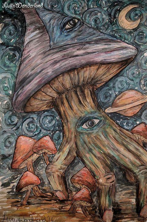 Shroomiverse - Livi in Wonderland Art