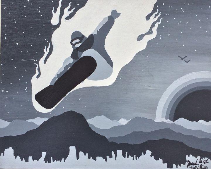 Rider on fire - Studio Dephillips