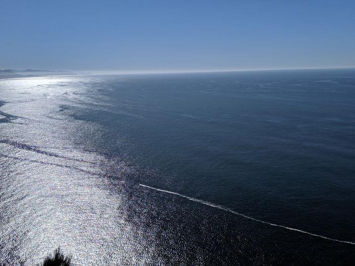 Beautiful Pacific Ocean - Art by Seren